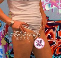 2014 Men Cotton Cock Loop See Through Wild Sexy Thong Male MIcro Bikini G-String Panties Brief Underwear Lingerie Gay Sex Toy