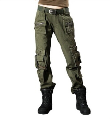 Special Female flight suit military enthusiasts dress Outdoor climbing panty women's New overalls pocket Lady leisure trousers(China (Mainland))