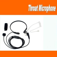 Freeshipping+Throat MIC Headset/earphone Covert Air Tube Earpiece for baofeng puxing px-888k wouxun ham radio transceiver