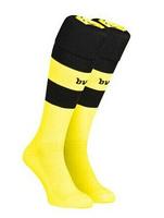 Thai quality original club Soccer socks Borussia Dortmund home yellow football sock