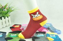 Cartoon cotton jacquard baby boys girls socks baby clothing accessories booties floor infant socks homewear 5pair=10pices ks31(China (Mainland))