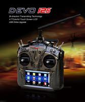Walkera DEVO 12S +RX 1202 Telemetry 12 Channel Reciever+Aluminum Case