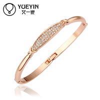 Jewelry Wholesale 10pcs/lot Z029  Nickle Free    Fashion Jewelry 18K Real Gold Plated Bracelets Bangles