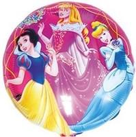 Round three hydrogen Princess aluminum balloons birthday party supplies wholesale hot new cartoon