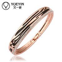 Jewelry Wholesale 10pcs/lot Z034  Nickle Free    Fashion Jewelry 18K Real Gold Plated Bracelets Bangles