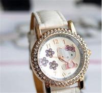 silicone watch hello kitty cartoon watch geneva watch women candy quartz watch