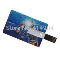 NEW Hot Selling Credit Card USB Flash Drive Can Custom LOGO Pen drive  2GB 4GB 8GB 16GB 32GB Good quality USB Disk