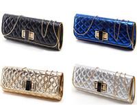 2014 Fashion Women PU Handbag New Arrival Trendy Style Women Evening Clutch Long Chain Shoulder Bag Women Handbag Free Shipping