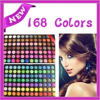 Pro 168 Full Color Makeup Cosmetic Eyeshadow Palette Eye Shadow maquillaje maquiagem Maquillage paleta de sombras