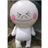 1pcs New wedding dress festive birthday balloons cute white man hydrogen children's toys wholesale 49 * 89cm