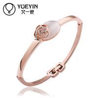 Jewelry Wholesale 10pcs/lot Z047  Nickle Free    Fashion Jewelry 18K Real Gold PlatedBracelets For Women Bangles