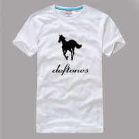 100% Cotton Men's Tees deftones T-Shirts S/M/L/XL/XXL/XXXL Fashion Large Size Shirts short sleeve