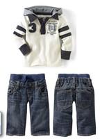 autumn baby boy's 2pcs suit sets kids Children's clothing set sport tracksuit casual long sleeve hoody jackets+trousers pants