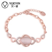 Jewelry Wholesale 10pcs/lot B052  Nickle Free    Fashion Jewelry 18K Real Gold Plated Bracelets For Women