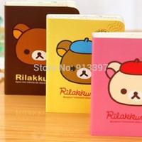36PCS Korean Stationery Easily Bear Memo Pad Notepad Creative Diary Book Portable Notebook