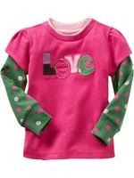 Wholesale  patchwork t shirt spring autumn cotton t shirt girl pink basic long sleeve t shirt 6pcs/Lot Free shipping