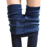 Winter 2014 velvet thick warm pants double shift Leggings wholesale
