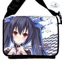 Japanese Anime Cartoon Hyperdimension Neptunia Noire Canvas Strap Purse / Bag / Oblique cross package Package / Packet