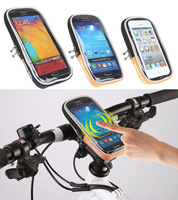 "2014 New 4.5"" 4.8"" 5.7"" Cycling Bike Bicycle Waterproof Touchscreen Phone Case Pouch Quick Release Bag Cycling Accessories"