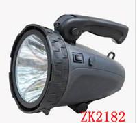 Free shipping! 18pcs/lot ZK2182 led flashlight  1000 meters long-range searchlight import 10W outdoor flashlight hunting
