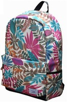 070964   Camouflage printed canvas han edition tide small pure and fresh and men's and women's backpack to travel