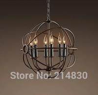 free shipping post modern American style pendant light antique copper light restaurant lamp bar lighting Dia420/Dia420/Dia620MM