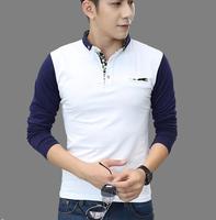 tNew Mens Long Sleeve T-shirt CabbeenKorean T-shirt