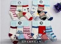 3pairs/LOT Free shipping Carter baby cotton socks Girls and boy socks