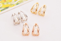 New Luxury stud earrings rose gold pearls brand fashion jewelry for women