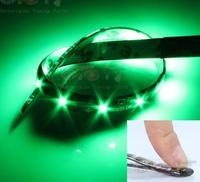 30 cm LED Motorcycle Car Bike Decoration Waterproof DC12V Flexible Led Strip Light Flash RGB White Green Pink