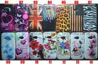 10PCS /LOT Flower Butterfly  US UK flag  Zebra Leopard love stars Soft Skin Case for HTC ONE M8 MINI