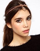FD032 foreign trade manufacturer Europe Folk customs Bohemian turquoise tassel hair band hair accessories