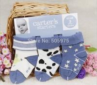 Carter  socks baby cotton socks