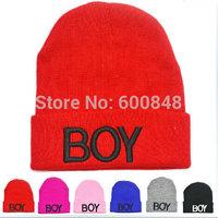 2014 new winter kids beanie hand hook knit hat gorro boy girls crochet cap bh-27