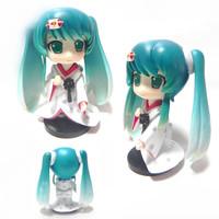 Q Version Miku Hatsune Figure Model Toy  + Worldwide free shiping
