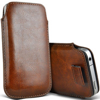 2014 New Pull Up Tab Strap Bag For Zte nubia z7 mini z5 z7max PU Leather Pouch bags Cell Phone Cases