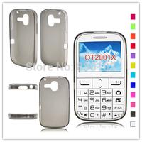 Pudding Soft TPU Case For Alcatel One Touch 2001 2001X 2001A OT2001X Tango 20.01 Free Ship