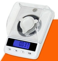 10pcs/lot EMS Factory Outlet 50g x 0.001g High Precision Digital Jewelry Diamond Gem Carat Scale with Counting Freeshipping