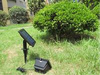 4pcs/lot Solar Lamps LED Solar Led Flood lights Solar LED Spotlights Soar Garden Lamps