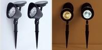 100pcs solar lamp light control colorful lights ball lights charging Garden light waterproof