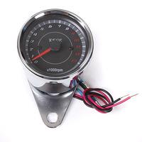 2 pcs/Lot _ LED Motorcycle Speedometer Tachometer Odometer Rev Counter 0-13000 RPM