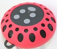 Music Suction Phone Mic Bluetoo Speaker Shower Portable Waterproof Wireless Car Handsfree Receive Call