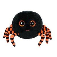 Free Shipping New Orignal TY  Littile Big Eye Animals Kids Plush Toys Black Crawly  Halloween Spider Stuffed Dolls For Children