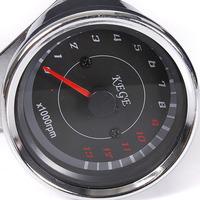 3 pcs/Lot _ LED Motorcycle Speedometer Tachometer Odometer Rev Counter 0-13000 RPM