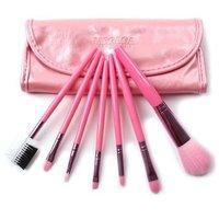 7 pcs Pink Real techniques Makeup Brush set kit & case beauty tools pincel maquillaje trucco maquiagem feminina Maquillage