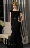 Black Lace Cap Sleeve Mermaid Mother of the Bride Dresses Evening Gown Vestidos de Noite Custom Made XS S M L XL 2XL-4XL