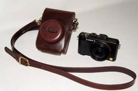 Camera bag PU holster imitation leather case cover bag for Leica D-LUX6 LUX5 LUX4 LUX6 Camera with free shipping
