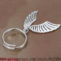 925 sterling silver ring, 925 silver fashion jewelry, Angel wings /bcnajtua cotalgaa R529