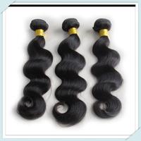 Cheap Peruvian Virgin Human Hair Weave Body Wave Hair Long Length  3/4 Bundles True to Length Free Shipping DHL Muse T- Virgin
