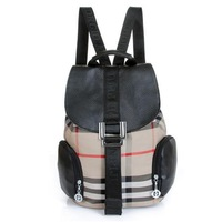 Fashion design check style teenager School bag Campus Backpack women shoulder bags free shipping  -5